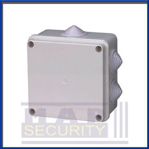 CCTV ELECTRICAL JUNCTION BOX IP55 RATED CABLE GLANDS
