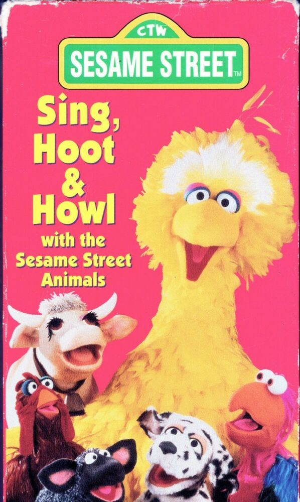 Where Can I Sell My Vhs Tapes >> Sesame Street - Sing, Hoot & Howl (VHS, 1991) | eBay