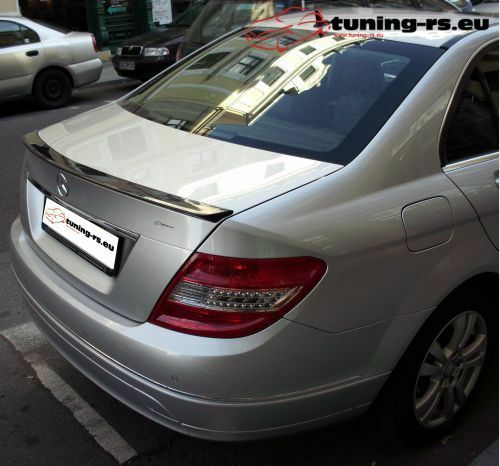mercedes c klasse w204 heckspoiler spoiler tuning rs ebay. Black Bedroom Furniture Sets. Home Design Ideas