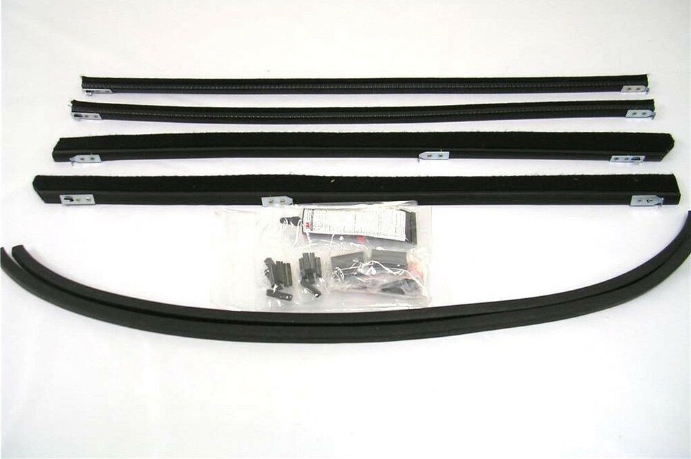 1932 Ford 5 Window Coupe Tudor Fordor Sedan Front Window Channel Kit Both Doors Ebay