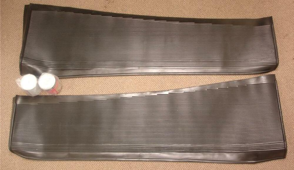 1933 1934 Ford Car Rubber Running Board Covers Cover Set