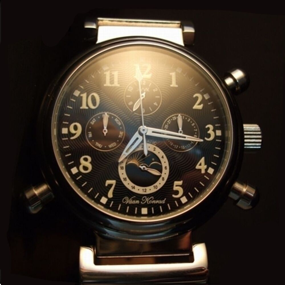 AUTOMATIC MENS PROSIDION VAAN KONRAD 20 JEWEL SUN/MOON ...