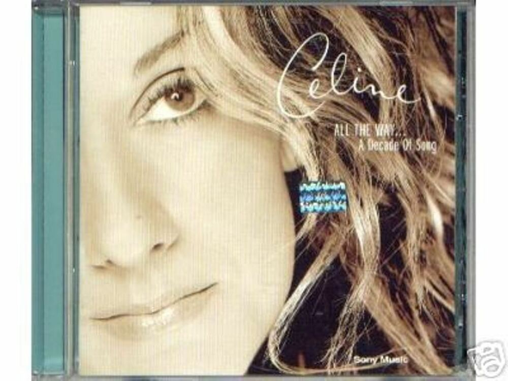 celine dion all the way sealed cd best greatest hits ebay. Black Bedroom Furniture Sets. Home Design Ideas