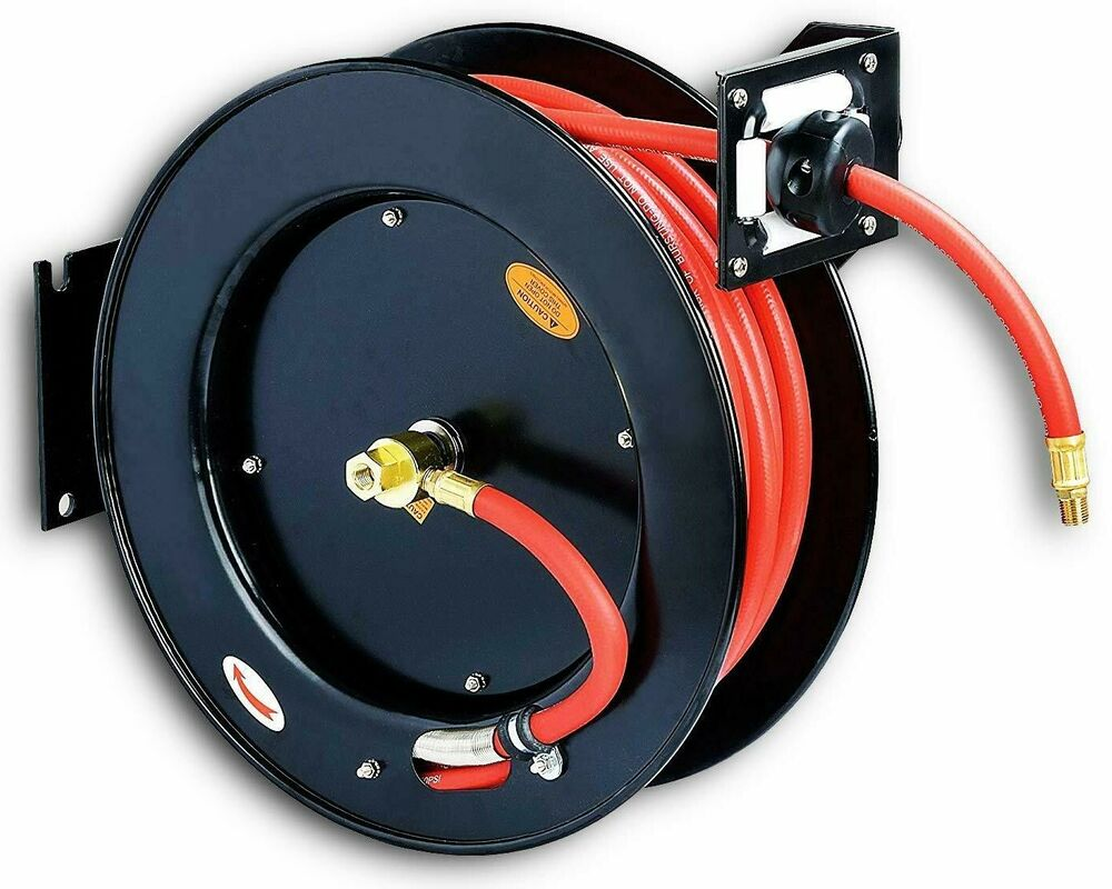 how to connect air compressor to hose reel
