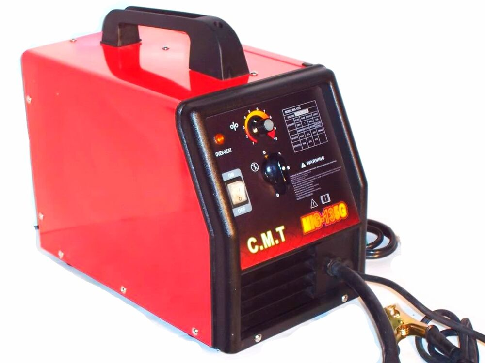electric flux wire welder machine mig 135 g gas and no gas. Black Bedroom Furniture Sets. Home Design Ideas