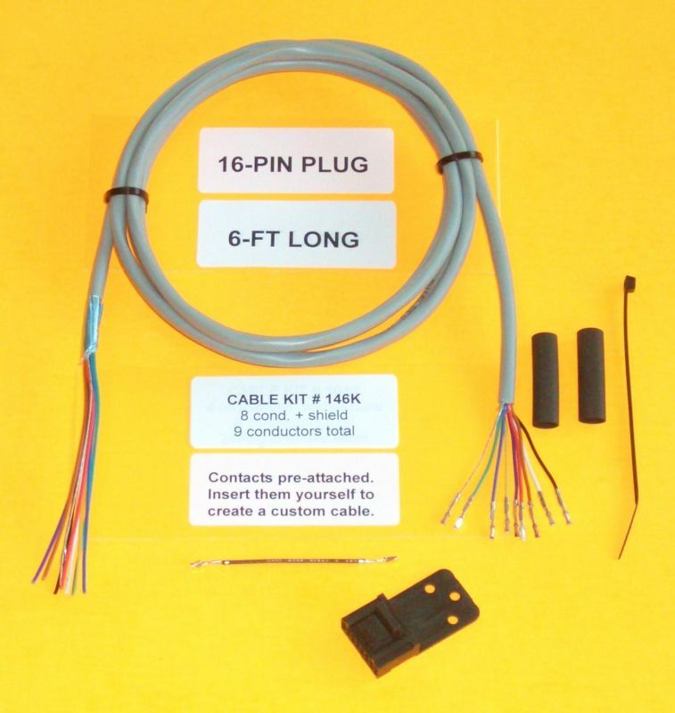 Cable Kit 146k Motorola 16 Pin Maxtrac Gm300 Repeater