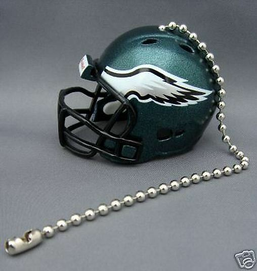 LIGHT/FAN PULL & CHAIN PHILADELPHIA EAGLES NFL FOOTBALL