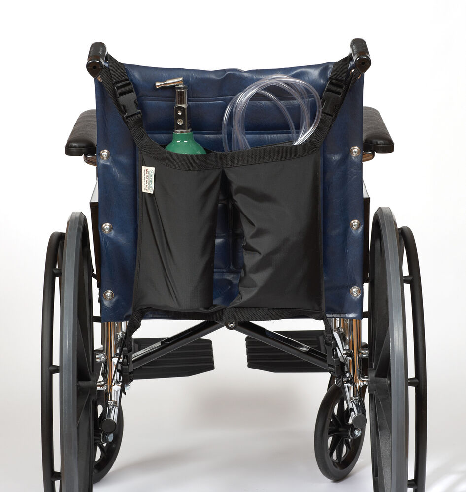 Wheelchair accessory mini oxygen tank holder ebay for Mobility chair