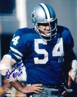 CHUCK HOWLEY signed DALLAS COWBOYS 8x10 Photo w/ROH 77