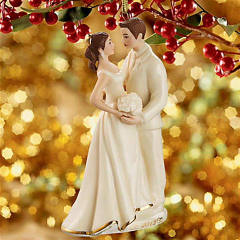 ... ALWAYS and FOREVER BRIDE and GROOM Ornament NEW in BOX Wedding eBay