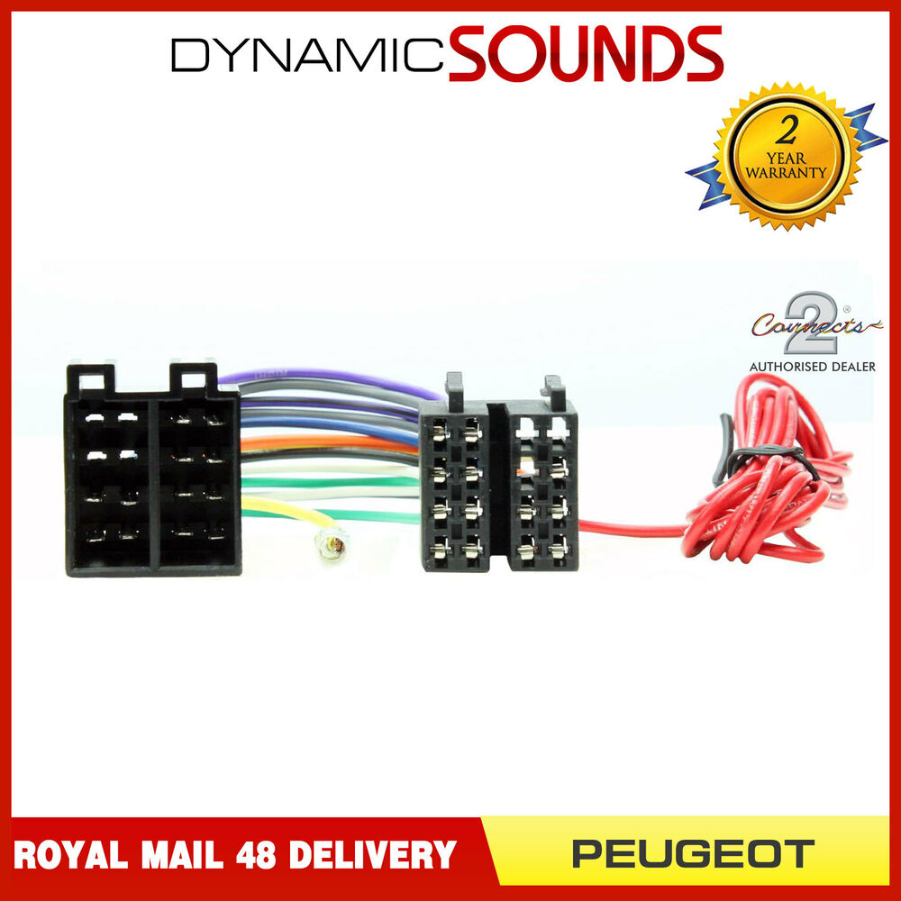 s l1000 pc2 32 4 wiring harness adaptor loom for peugeot 206,307,406, 607 pc2-85-4 wiring diagram at aneh.co