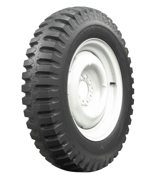 1 new firestone military jeep willys vehicle truck tire ebay. Black Bedroom Furniture Sets. Home Design Ideas