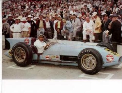 paul russo kurtis novi 4th place led 24 laps 1957 indy 500 8 x 10 photo ebay. Black Bedroom Furniture Sets. Home Design Ideas
