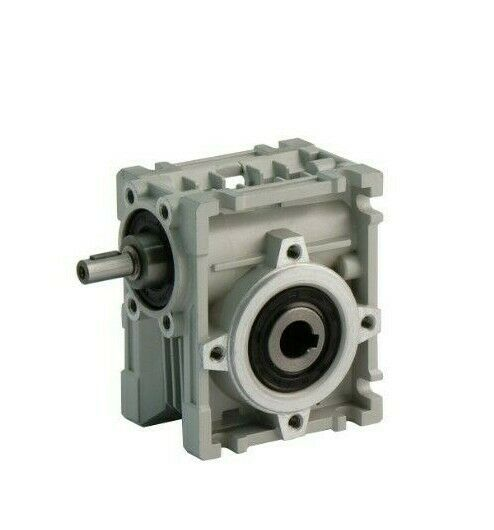 Sptw30 input shafted worm gearbox 14mm hollow shaft ebay for Hollow shaft worm gear motor