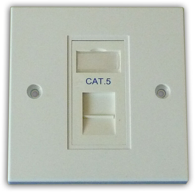How To Wire A Double Wall Socket On Cat5e Wiring Diagram Jack