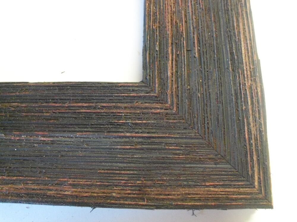 2 wide rustic blackbrown grungy weathered barnwood picture frame standard size ebay