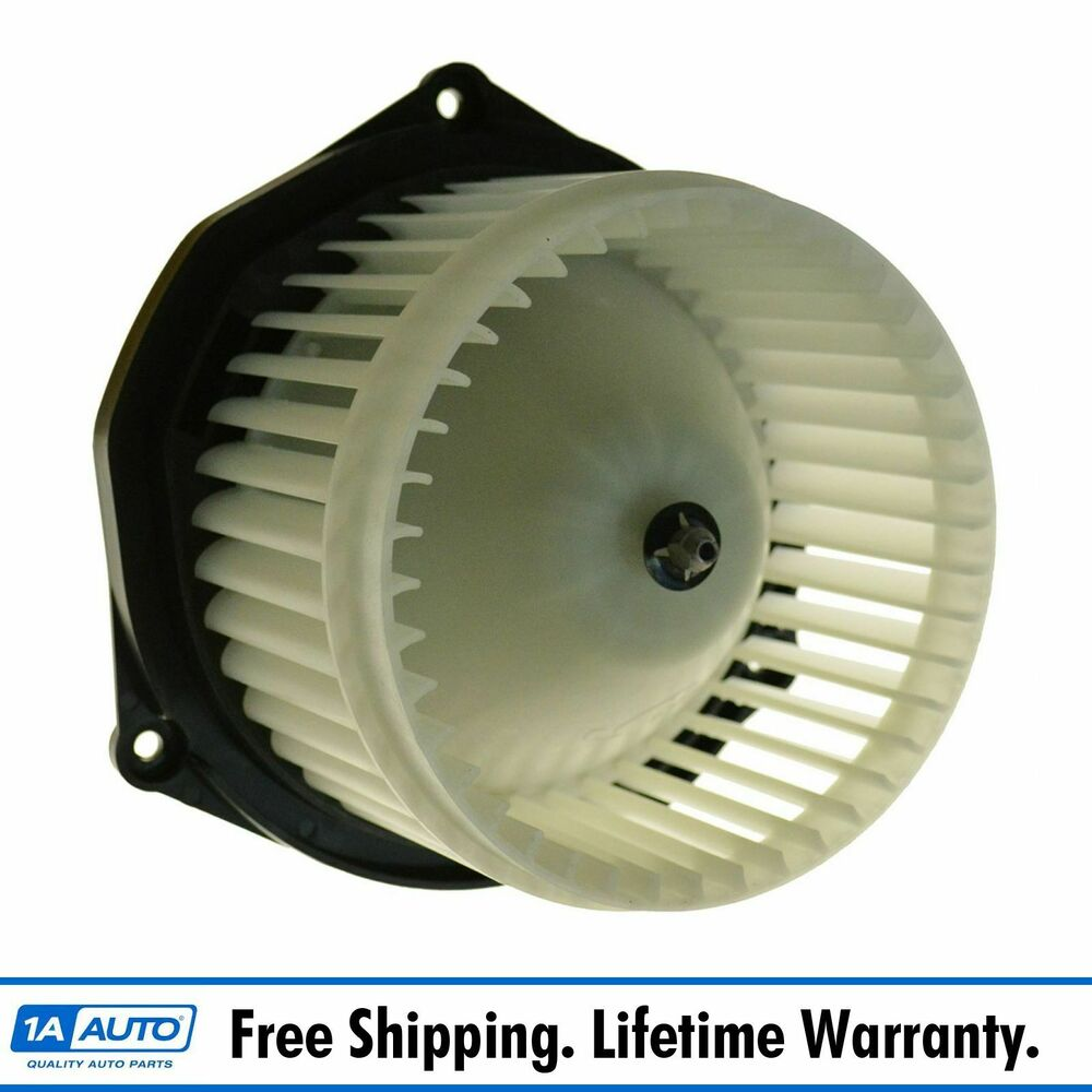 Heater blower motor w cage for olds pontiac buick chevy for Home ac blower motor replacement cost