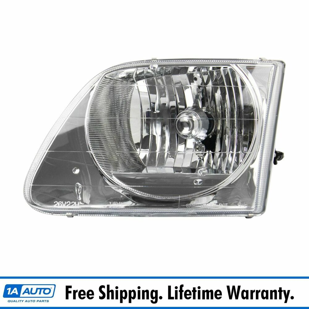 Headlight Headlamp Left Truck Driver Side for 01 03 Ford