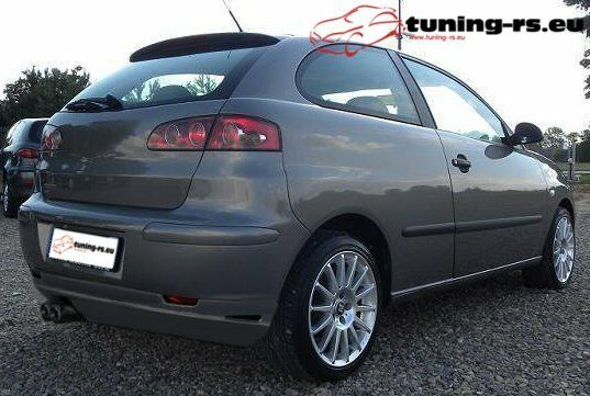 seat ibiza 6l heckansatz hecklippe tuning ebay. Black Bedroom Furniture Sets. Home Design Ideas