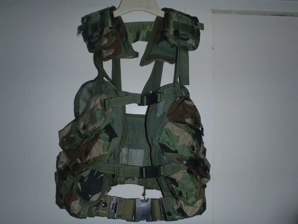 US Military Issue Tactical Vest Field Gear Complet With ...