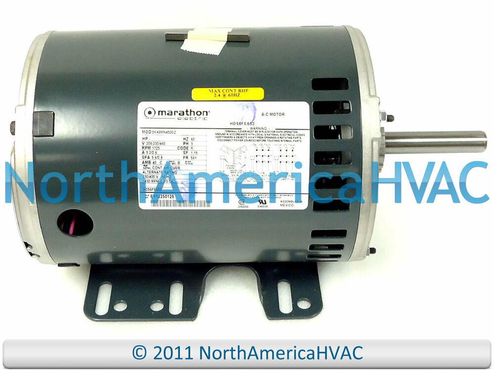 carrier bryant payne blower motor hd56fl652 208 230 460 furnace carrier bryant payne blower motor hd56fl652 208 230 460 furnace marathon 3 phase