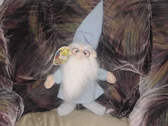 Disney Mr Merlin Wizard Plush Doll With Tags The Sword In