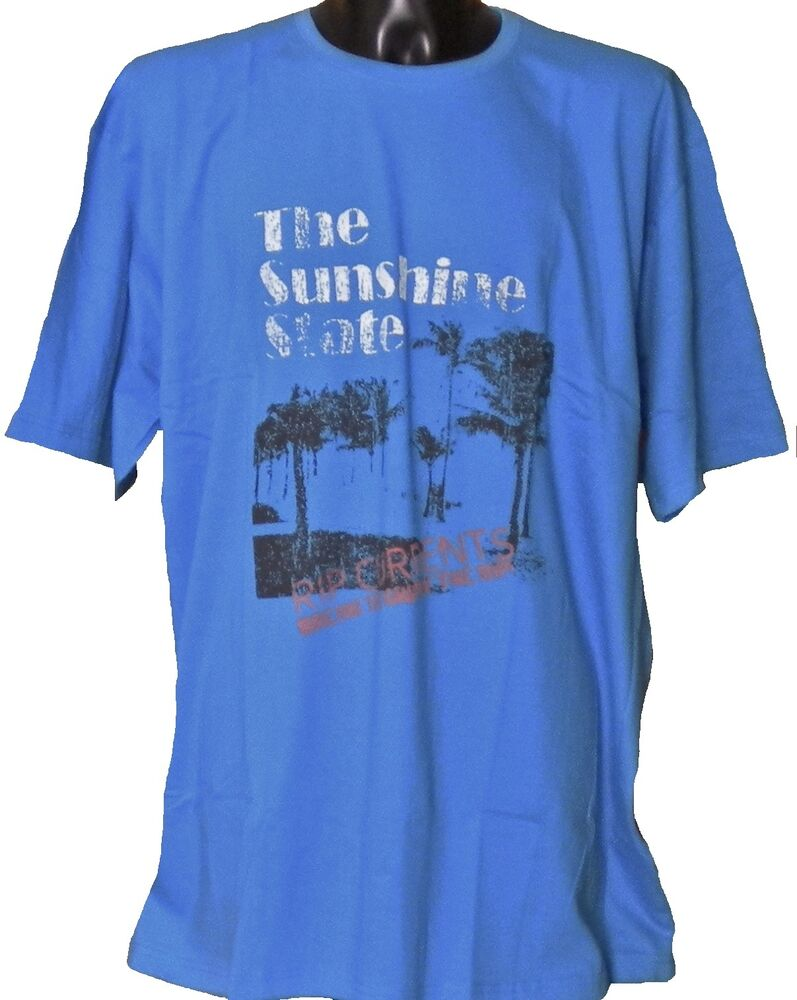 Mens big size break the grip of the rip surf t shirt in for Mens t shirts 4xl