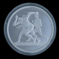 Silver Proof Coin 2004 Greek Olympics-Runners