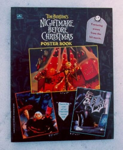 Free Comic Book Day Nightmare Before Christmas: 1993 ORIGINAL Disney Nightmare Before Christmas Poster