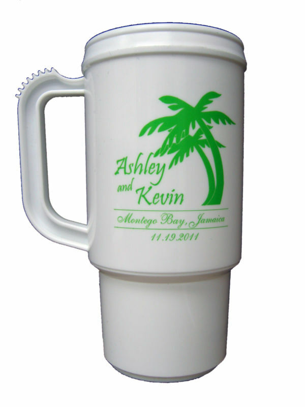 75 Custom Tropical Wedding Party Favor Personalized Travel