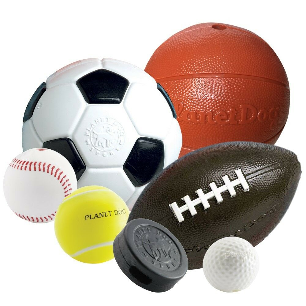 Planet Dog Orbee Fetch Sportball baseball football soccer ...
