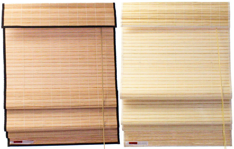 2 X 6 24 Quot X 72 Quot Natural Bamboo Roman Blinds Shade W