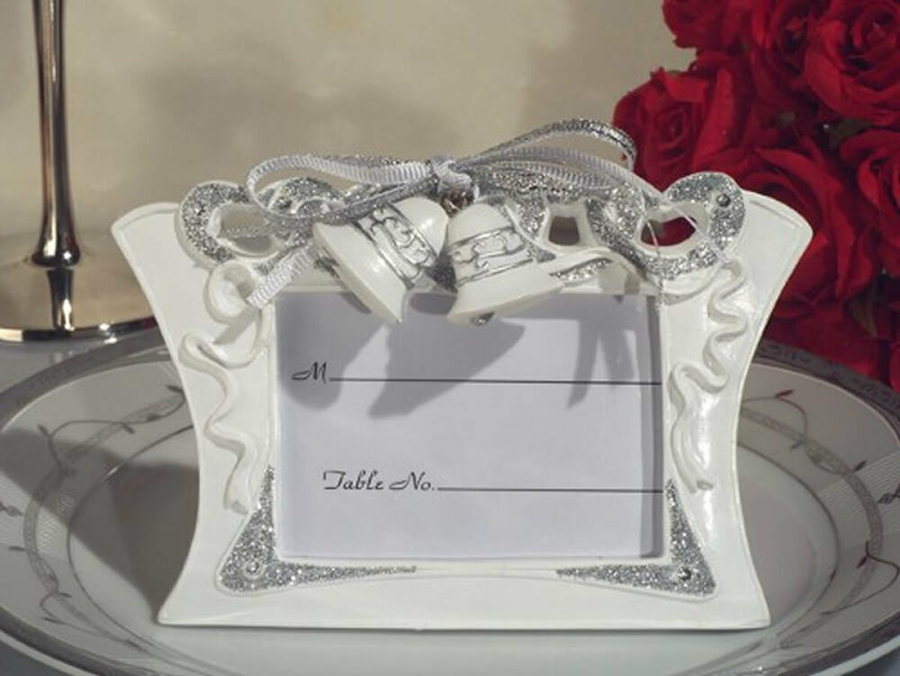50 Wedding Favors Wedding Bells Place Card Holders