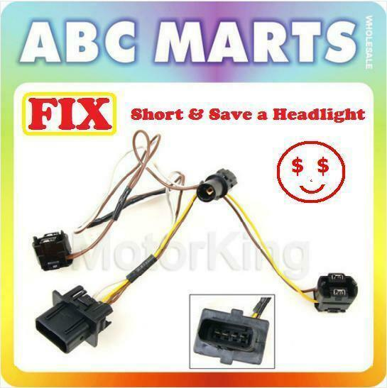 2000 e320 headlight wiring harness 99-03 benz e320 e430 e55 w210 headlight wire wiring ... 2000 e320 headlight wiring harness