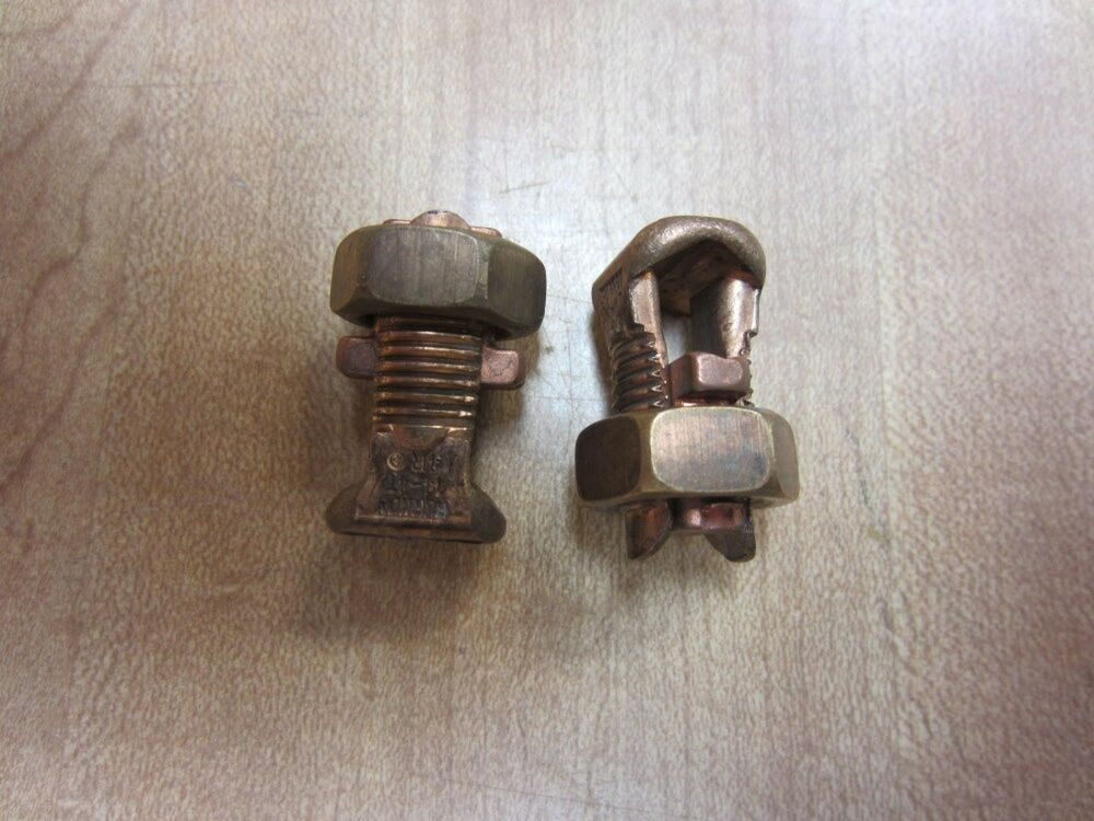 Burndy Ks20 Db Ks20db Split Bolt Pack Of 2 New No Box Ebay