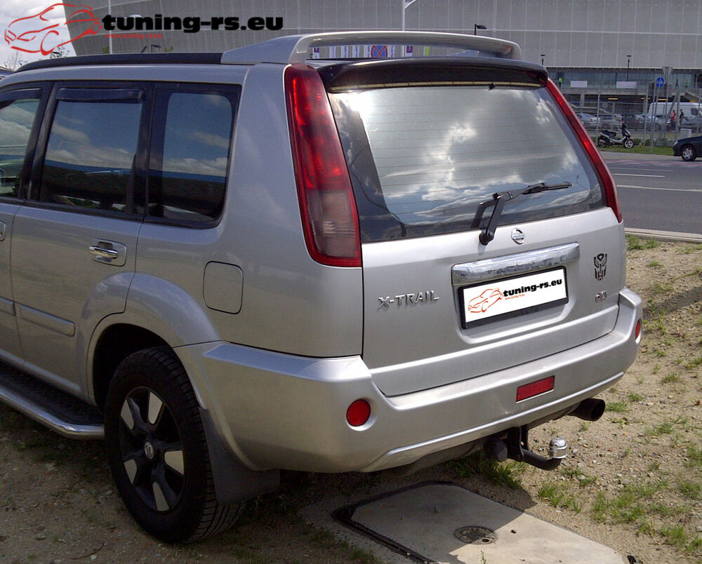 nissan x trail t30 dachspoiler heckfl gel spoiler tuning ebay. Black Bedroom Furniture Sets. Home Design Ideas