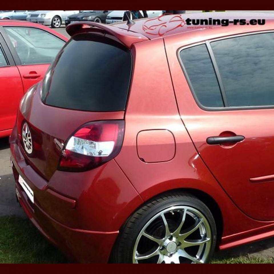 renault clio 3 clio iii dachspoiler heckspoiler tuning ebay. Black Bedroom Furniture Sets. Home Design Ideas
