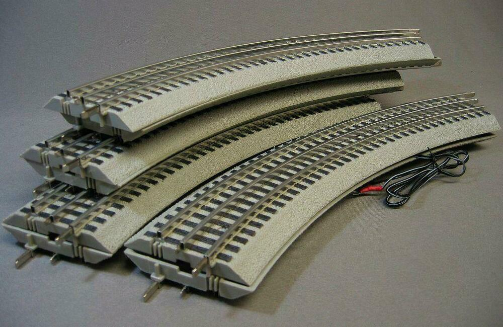 Lionel Fastrack 8 Curves 036 Standard Train Circle Manual Guide