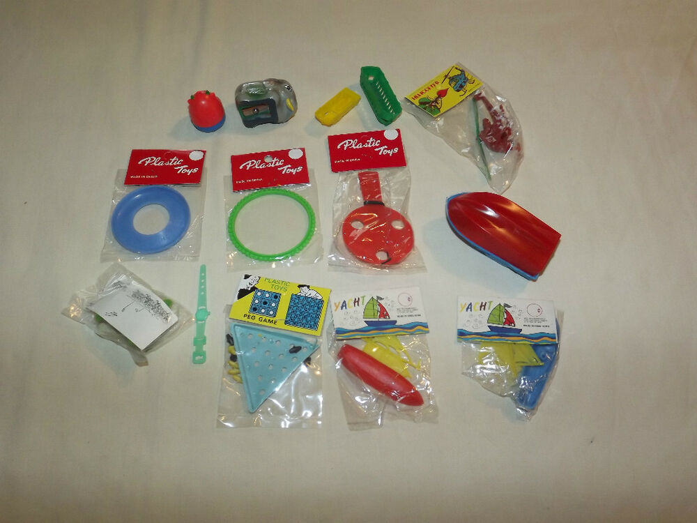 Vintage Toys And Games : Vintage toys s novelty boats games in original