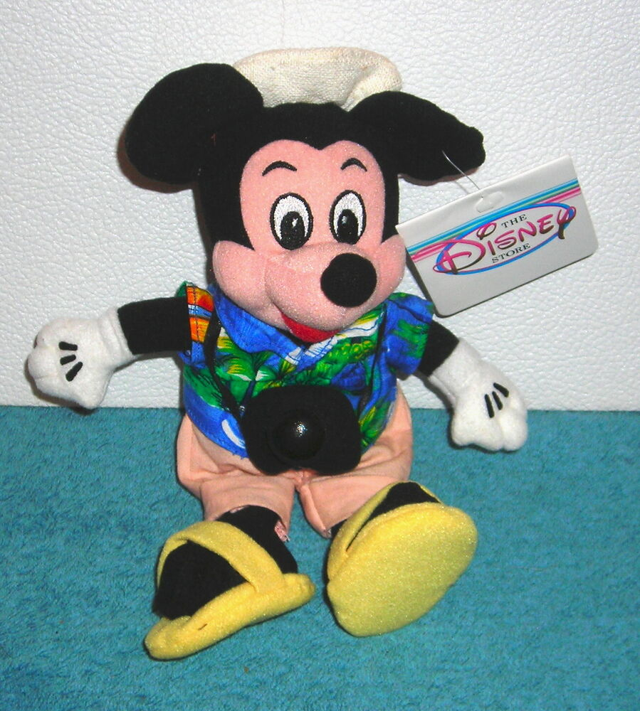 Mickey Mouse Toys : Disney store exclusive mickey mouse tourist vacation
