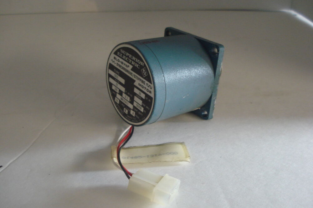 Superior Electric Slo Syn Stepper Driving Motor Ss25 Ebay