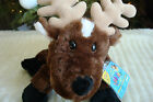 WEBKINZ*Plush/Stuffed/Beanbag*REINDEER*2007*Seasonal*Sealed/Unused Code Tag*NEW*