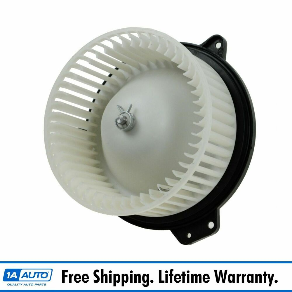 heater a c ac blower motor w fan cage for 99 03 mazda