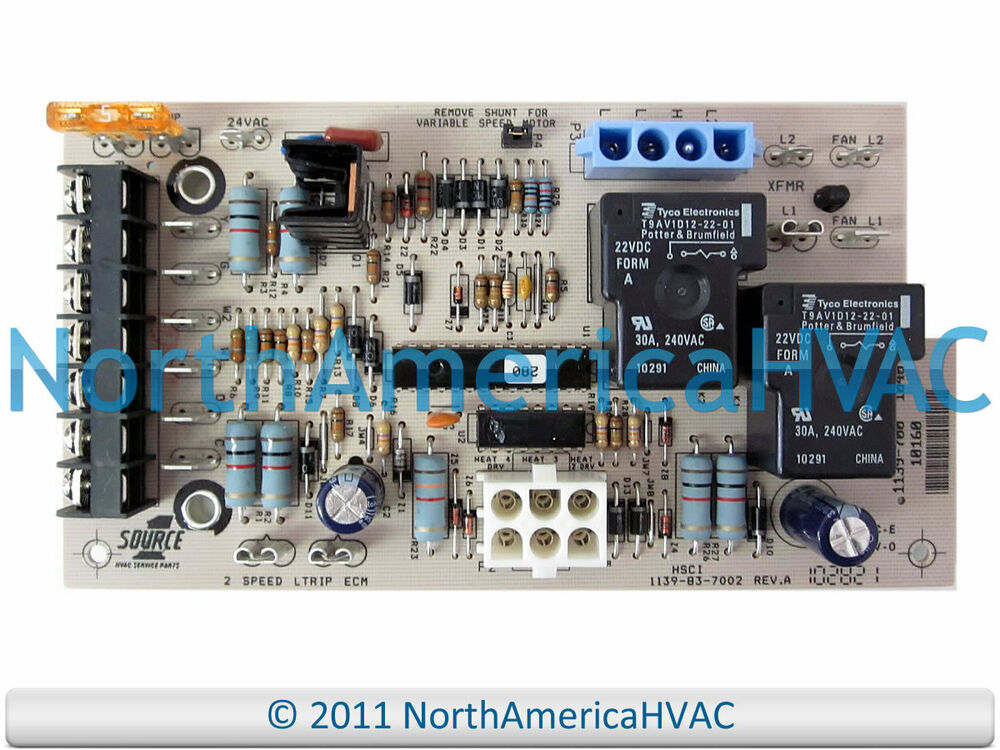 york air handler control board wiring diagram goodman air handler to thermostat wiring diagram york luxaire furnace control board 1139-83-7002 1139-700 ... #6