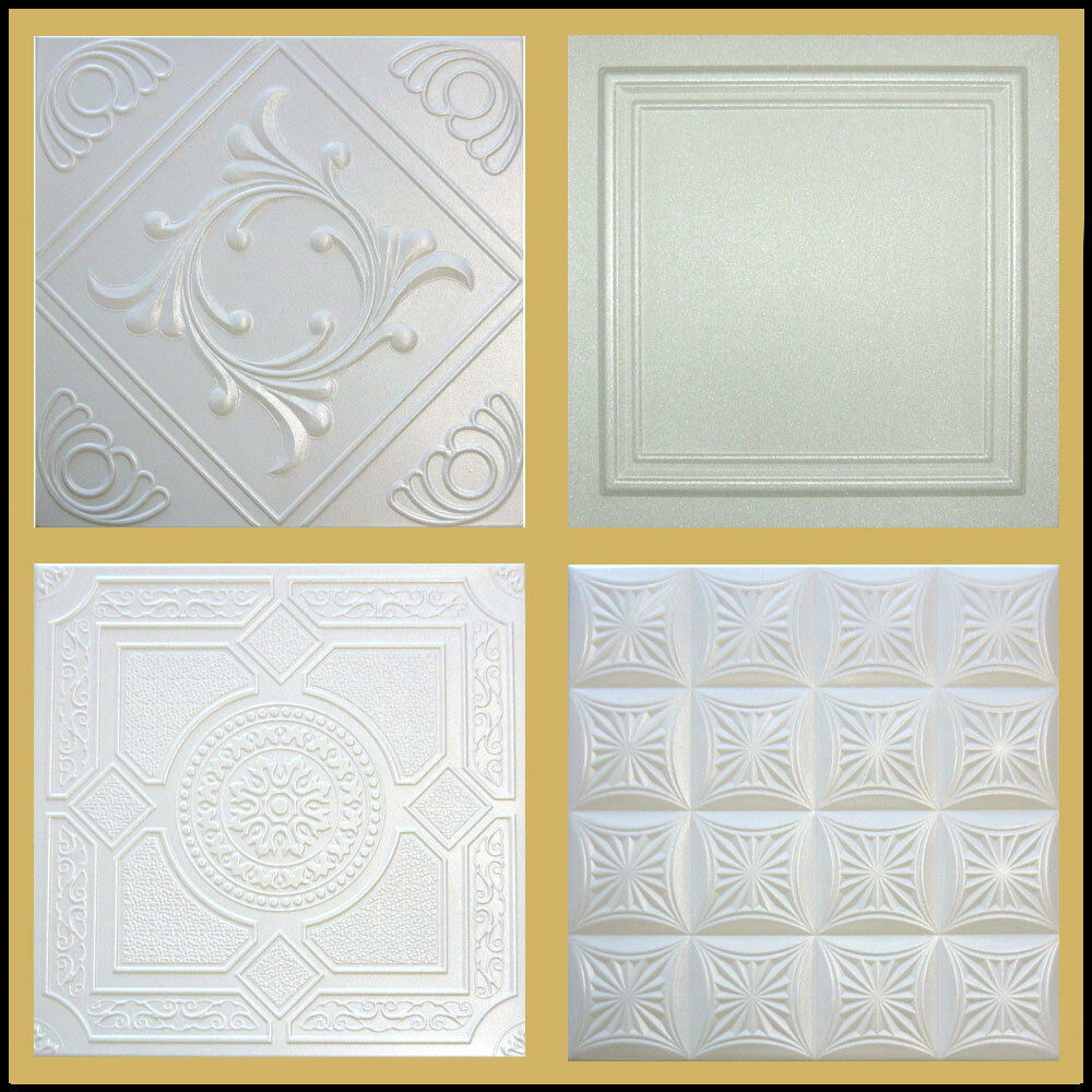 Decor ceiling tiles