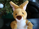 WEBKINZ*Plush/Stuffed/Beanbag*KANGAROO*With Pouch*Unused/Sealed Code Tag*NEW*