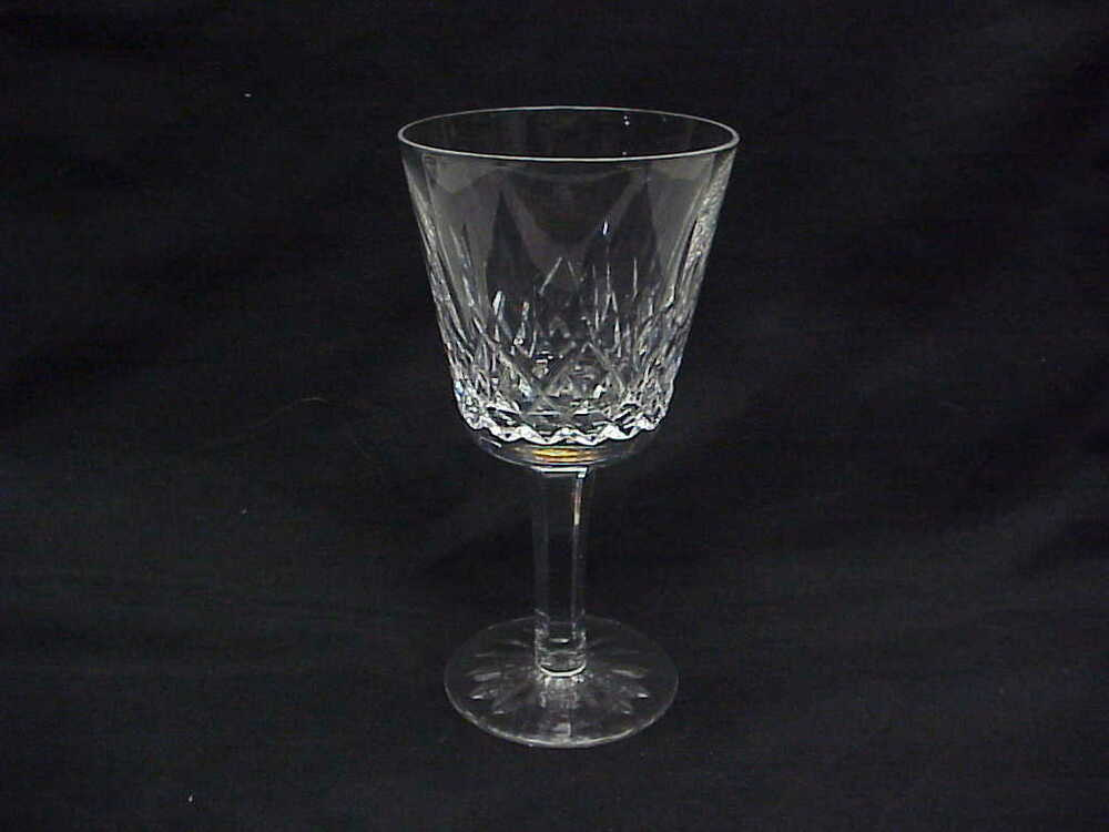 crystal wine glasses waterford cut glass quot lismore quot claret wine glasses 5 7 8 30002