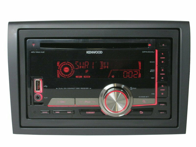 kenwood doppel din cd mp3 usb ipod aux radio fiat ducato. Black Bedroom Furniture Sets. Home Design Ideas