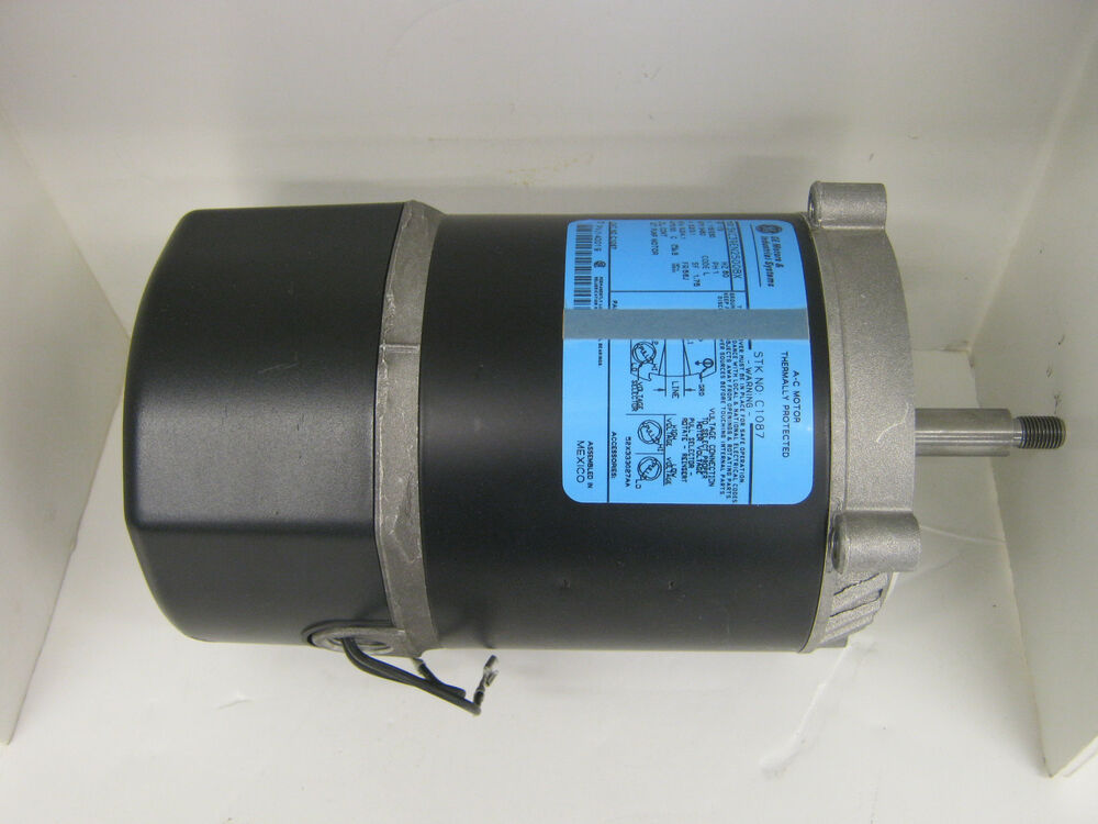 General electric single phase capacitor start jet pump for Start capacitors for electric motors