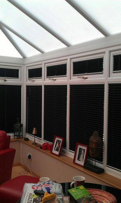 Ez Fit Pleated Blinds No Drilling No Screws Ideal For
